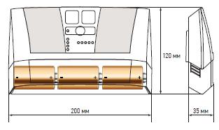 размеры контроллера аквасторож эксперт