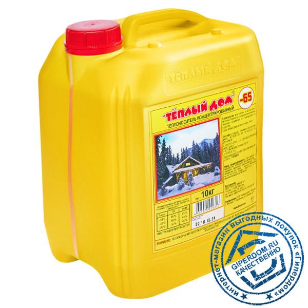 Теплоноситель Теплый Дом 65 (20 кг) антифриз для отопления