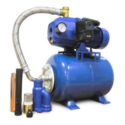 Станция автоматического водоснабжения Unipump AUTO DP 750-50 с внешним эжектором