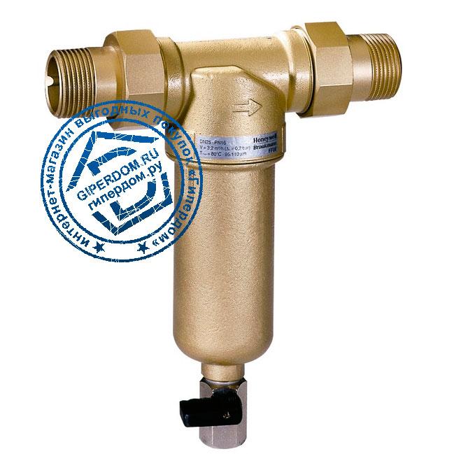 Фильтр для воды с прямоточной промывкой Honeywell miniplus FF06 1