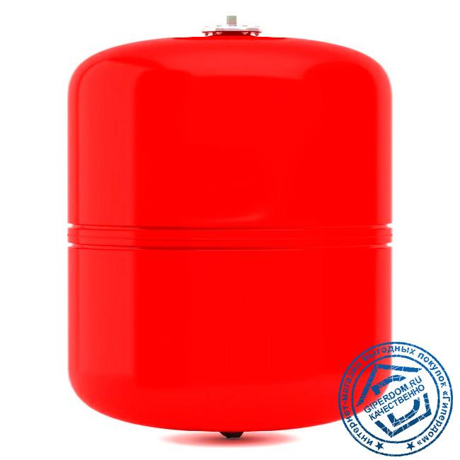 Мембранный расширительный бак для отопления Wester WRV 35