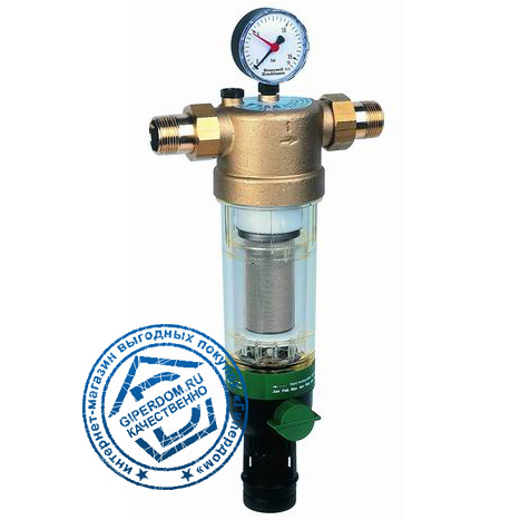 Фильтр тонкой очистки с обратной промывкой Honeywell F76S 1/2