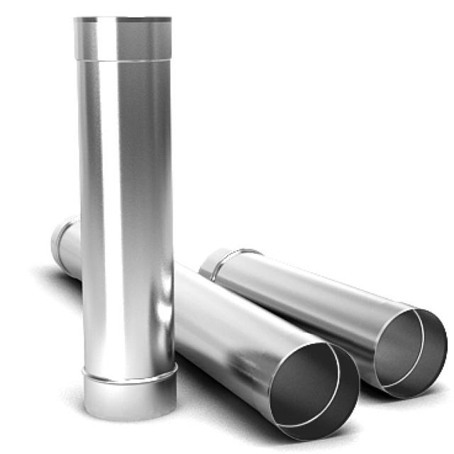 Дымоходная труба 0,5м нержавеющая сталь