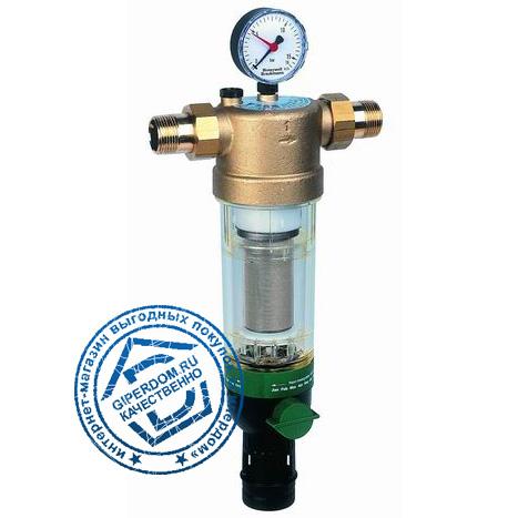 Фильтр тонкой очистки с обратной промывкой Honeywell F76S 3/4