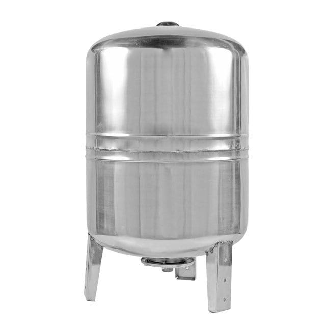 Гидроаккумулятор Unipump V 100 S нерж. сталь (вертикальный)