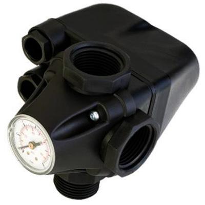Реле давления Unipump PM/5-3W со встроенным манометром