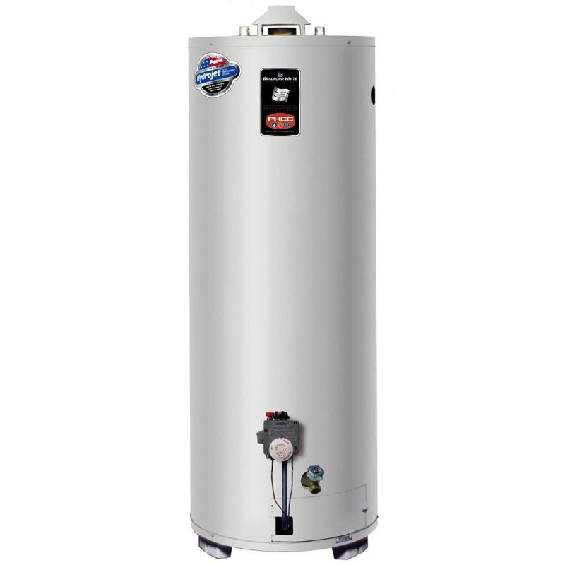 Газовый накопительный водонагреватель Bradford White M-I-403S6SX (пропан)