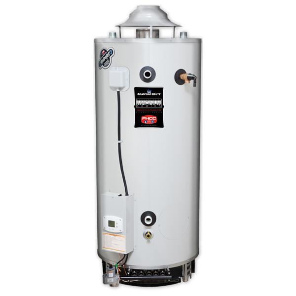 Газовый накопительный водонагреватель Bradford White D-38T-155-3N