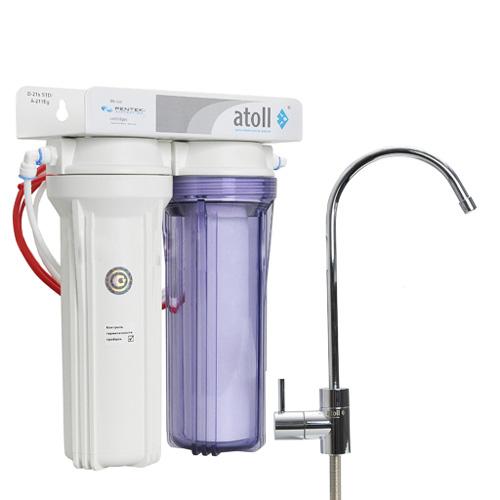 Проточный питьевой фильтр Atoll D-21 STD (A-211E)