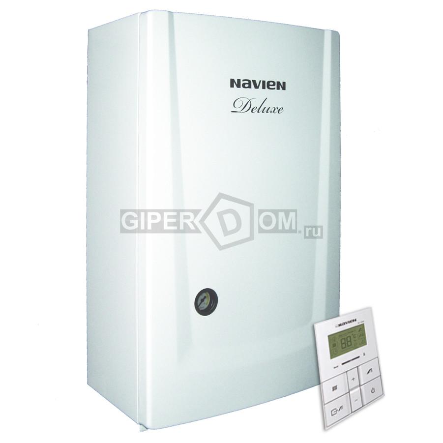 Настенный газовый двухконтурный котел Navien Deluxe 13K Coaxial