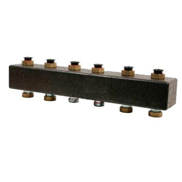 Настенный распределительный коллектор Meibes ME 66301.3 на 3-5 отопительных контура