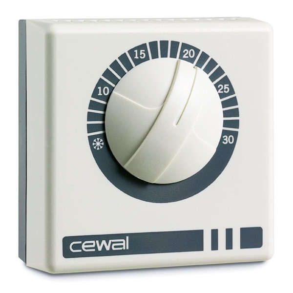 Комнатный термостат CEWAL RQ10 (без доп. функций)