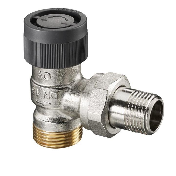 Термостатический вентиль Oventrop A 1/2 НР угловой [1181097]