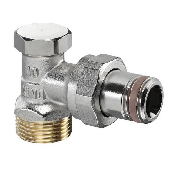 Вентиль на обратную подводку Oventrop Combi 2 1/2 НР угловой [1091072]