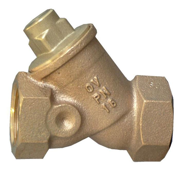 Обратный клапан с косой врезкой Oventrop 1