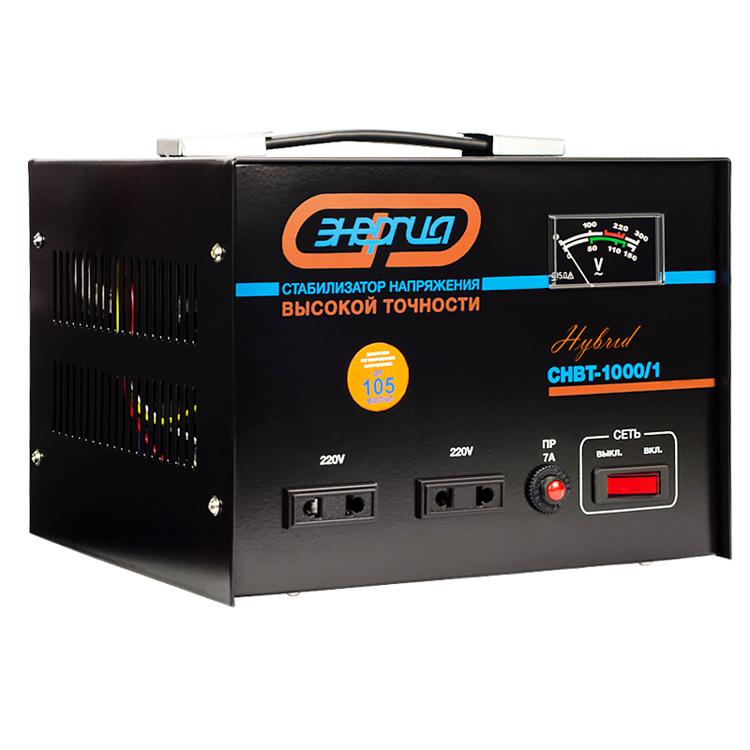 Стабилизатор напряжения Энергия Hybrid CНВТ-1000/1