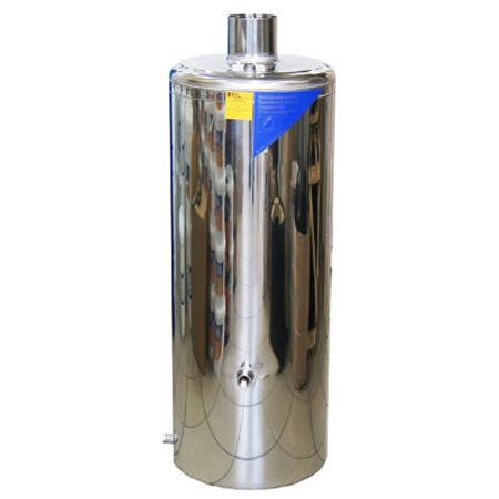 Бак из нержавейки КВО Н для водогрейной колонки Болгария 80л