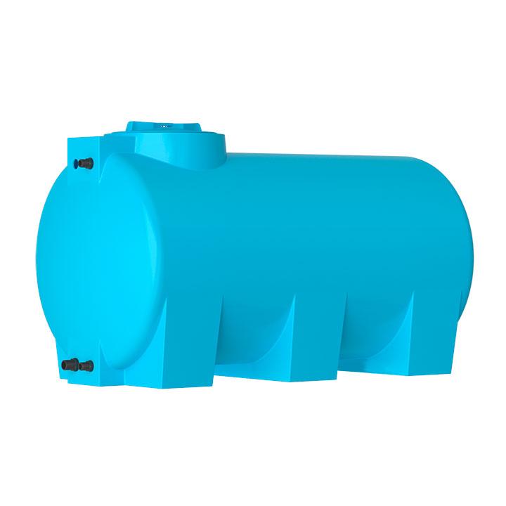 Пластиковый бак для воды Акватек ATH 1500 (синий) с поплавком