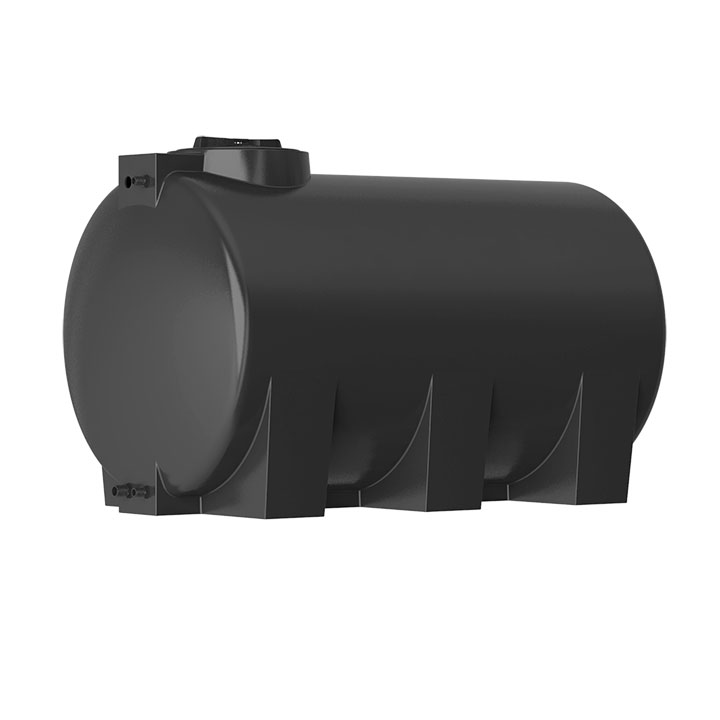 Пластиковый бак для воды Акватек ATH 1000 (черный) с поплавком