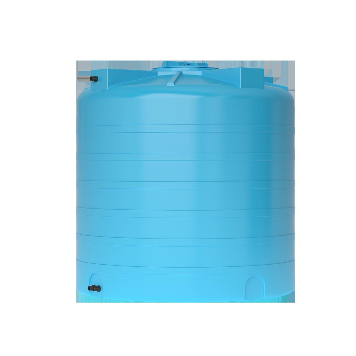Пластиковый бак для воды Акватек ATV 1000 (синий) с поплавком