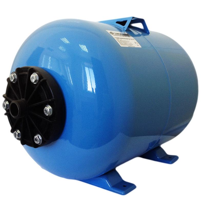 Гидроаккумулятор Джилекс 50ГП (горизонтальный, пластиковый фланец)