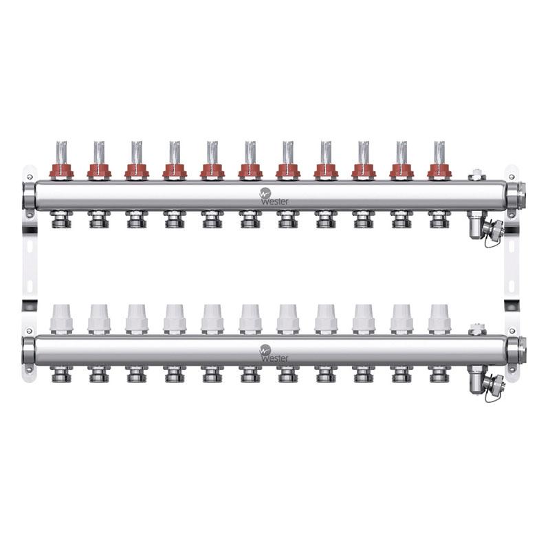 Коллекторная группа Wester W902 1″×11 контуров