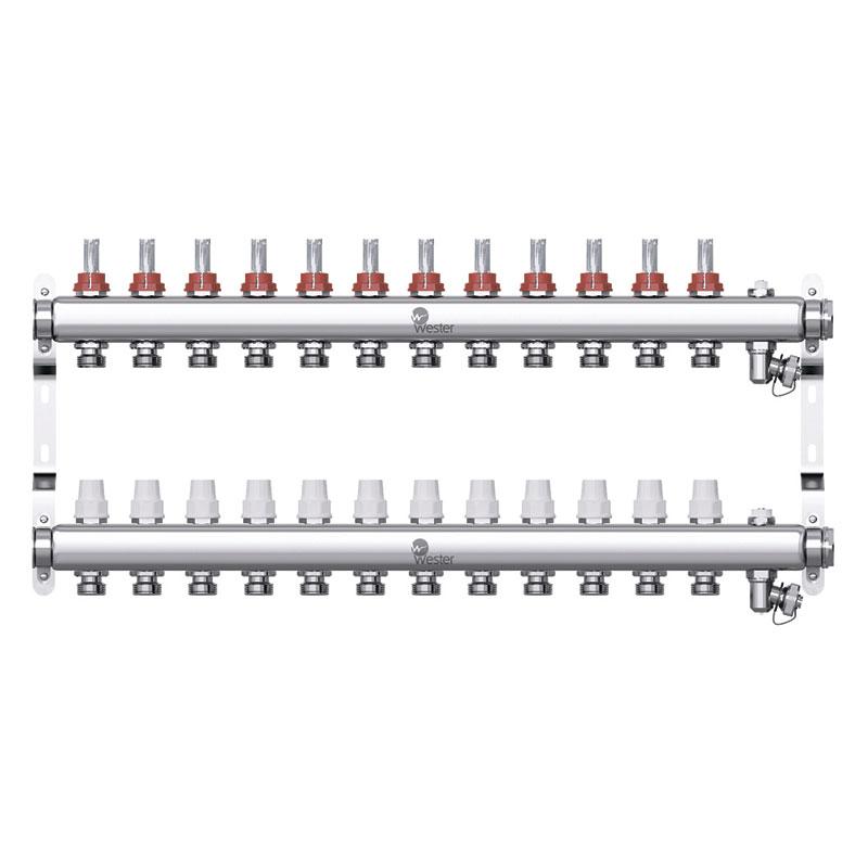 Коллекторная группа Wester W902 1″×12 контуров