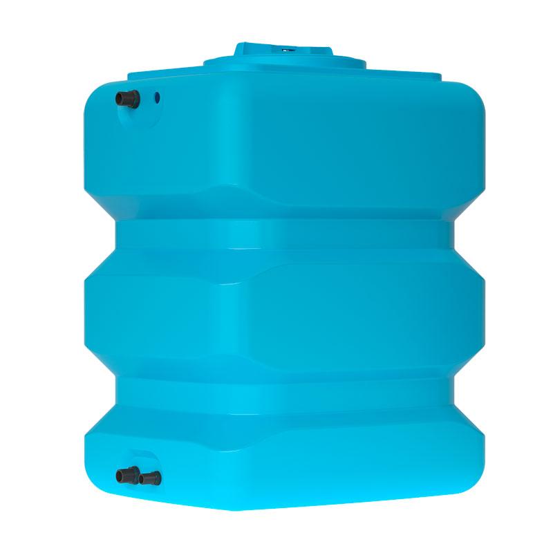 Пластиковый бак для воды Акватек ATP 500 (синий) с поплавком