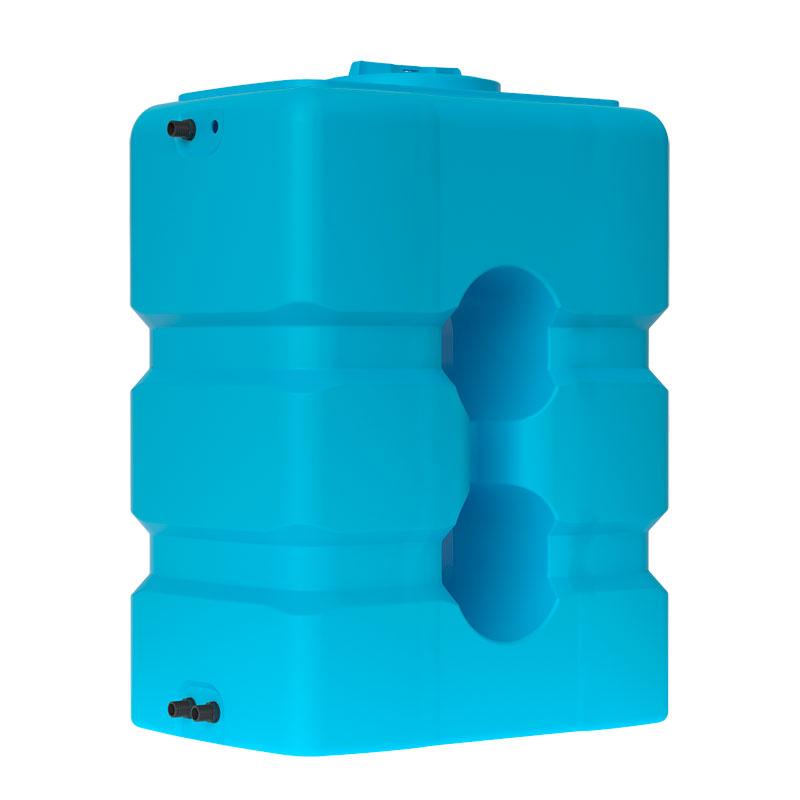 Пластиковый бак для воды Акватек ATP 800 (синий) с поплавком