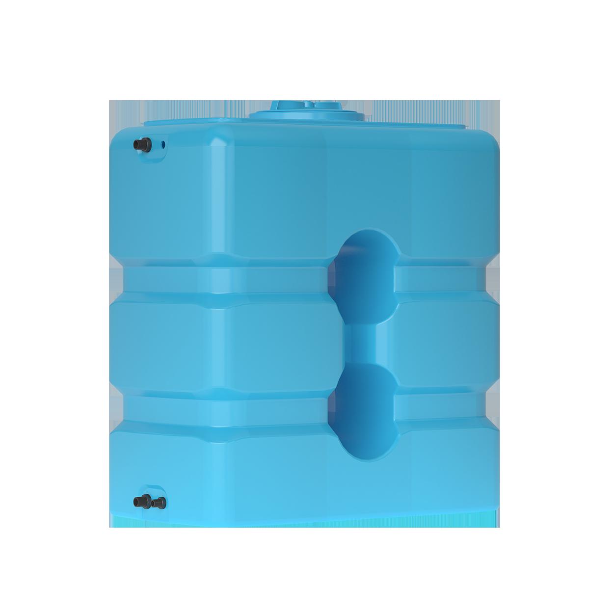 Пластиковый бак для воды Акватек ATP 1000 (синий) с поплавком