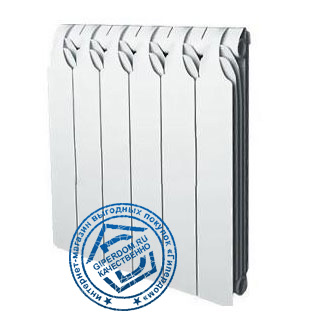 биметаллический радиатор Sira Gladiator 350 6 секций