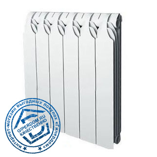 Биметаллический радиатор Sira Gladiator 350 12 секций