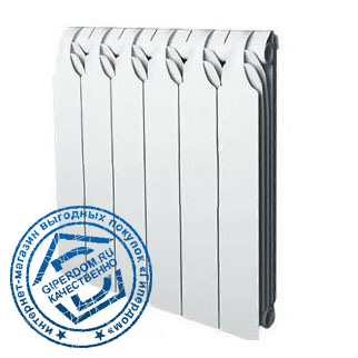 Биметаллический радиатор Sira Gladiator 500 4 секции