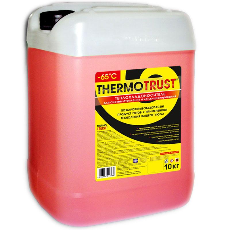 Теплоноситель Thermotrust -65ºC (10 кг) - антифриз для отопления