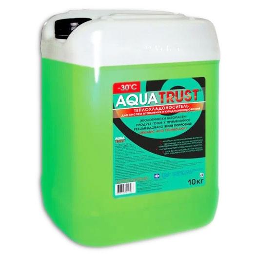 Теплоноситель Aquatrust -30ºC (10 кг) - антифриз для отопления