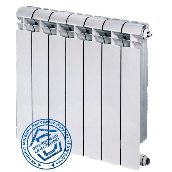 Биметаллический радиатор Global Bimetall Style Extra 350 8 секций