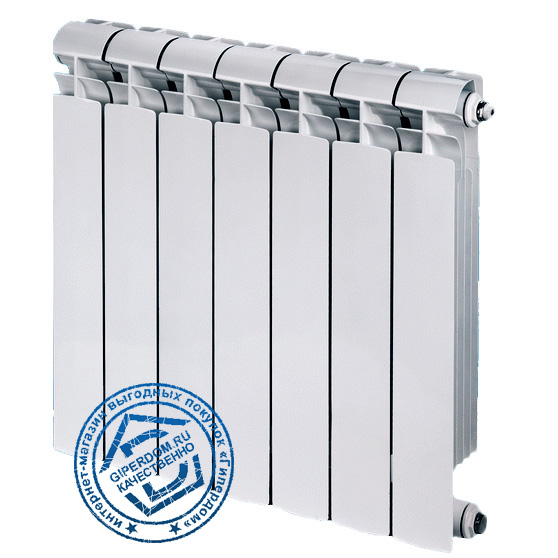 Биметаллический радиатор Global Bimetall Style Extra 500 12 секций
