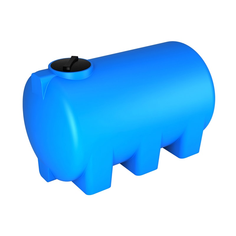 Бак для воды ЭкоПром H 2000 (синий)