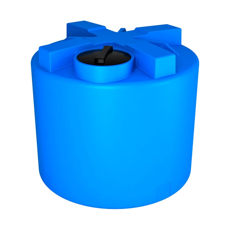 Бак для воды ЭкоПром T 2000 (синий)