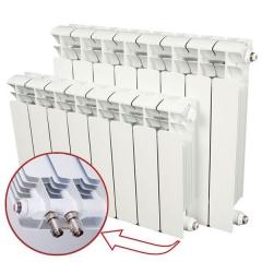 Биметаллический радиатор Rifar Base Ventil 350 10 секций, правое