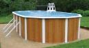 Овальный бассейн Atlantic Pool Эсприт-Биг 7,3х3,7