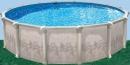 Овальный бассейн Atlantic Pool Гибралтар J-4000 7,3х3,7