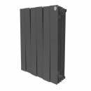 Royal Thermo PianoForte 500 4 секции (черный)